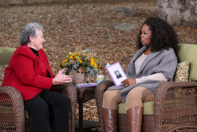 Joan Chittister and Oprah