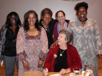 Sister Joan and women who received materials from the Fund for Prisoners while incarcerated.