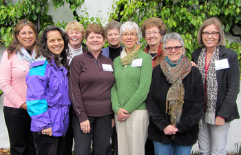 Prison ministers at a 2014 Monasteries of the Heart workshop in California.