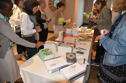 Book sales at the Communicators for Women Religious Conference