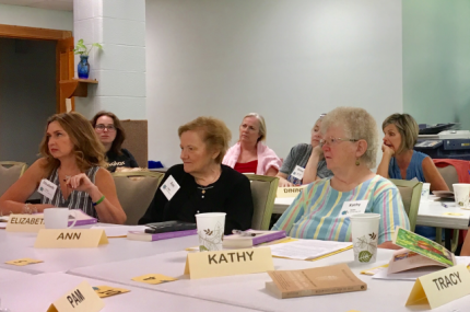 Participants listen at the 2019 Joan Chittister Institute for Contemporary Spirituality
