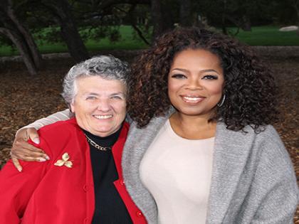 Joan Chittister and Oprah